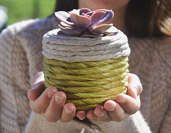 Jinja ecodesign handmade with textile waste