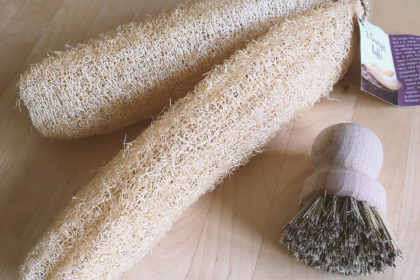 Eco cleaning tools – Luffa Sponge